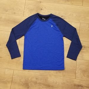 Old Navy Active Go Dry Top Blue {Boy's LG 10/12}